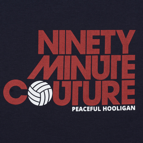 Мужская футболка Peaceful Hooligan Ninety Minute Navy