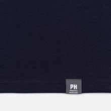 Мужская футболка Peaceful Hooligan Ninety Minute Navy фото- 4