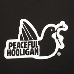 Мужская футболка Peaceful Hooligan Outline Dove Black фото- 2