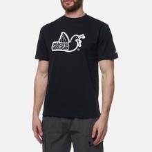 Мужская футболка Peaceful Hooligan Outline Dove Black фото- 2