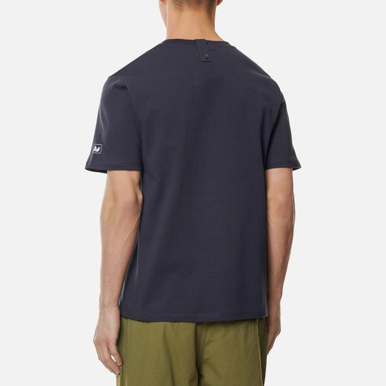 Мужская футболка Peaceful Hooligan Outline Dove Navy