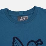 Мужская футболка Peaceful Hooligan Outline Dove Petrol фото- 1
