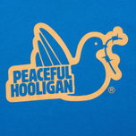 Мужская футболка Peaceful Hooligan Outline Dove True Blue фото- 2