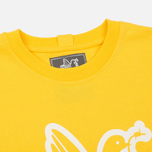 Мужская футболка Peaceful Hooligan Outline Dove Yellow/White фото- 1