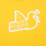 Мужская футболка Peaceful Hooligan Outline Dove Yellow/White фото- 2
