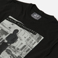 Мужская футболка Peaceful Hooligan Outnumbered Black фото - 1