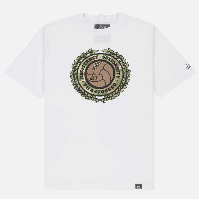 Мужская футболка Peaceful Hooligan Resistance White