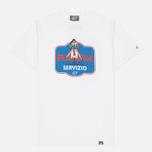 Мужская футболка Peaceful Hooligan Servizio White фото- 0