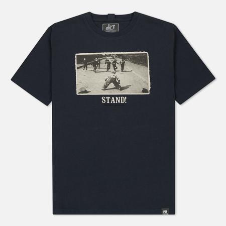Мужская футболка Peaceful Hooligan Stand Navy
