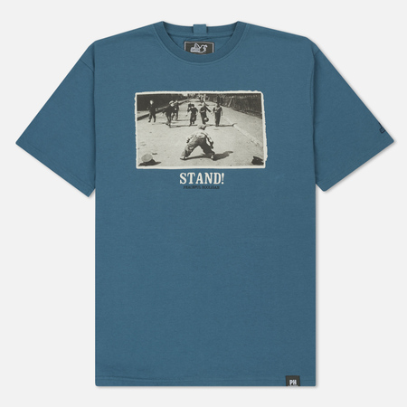 Мужская футболка Peaceful Hooligan Stand Petrol