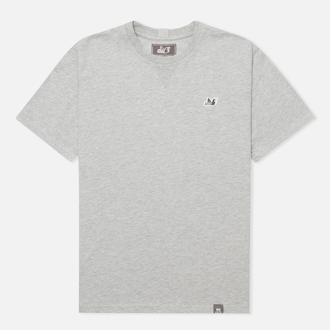 Peaceful Hooligan Sterling Men's T-shirt Marl Grey