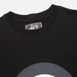 Peaceful Hooligan Target Men's T-shirt Black photo- 1