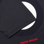 Мужская футболка Peaceful Hooligan Target Navy фото- 4