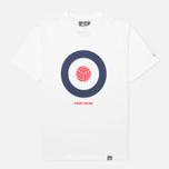 Мужская футболка Peaceful Hooligan Target White фото- 0