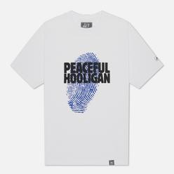 Мужская футболка Peaceful Hooligan Thumb White