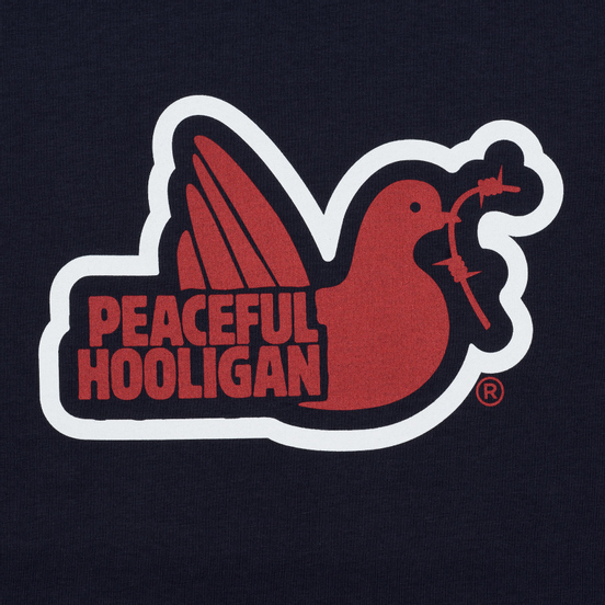 Мужская футболка Peaceful Hooligan Tridove Navy