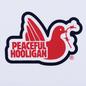 Мужская футболка Peaceful Hooligan Tridove White фото - 2