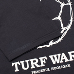 Peaceful Hooligan Turf Wars Men's T-shirt Navy photo- 4