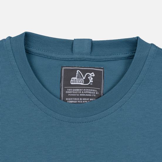 Мужская футболка Peaceful Hooligan Union Bluestone