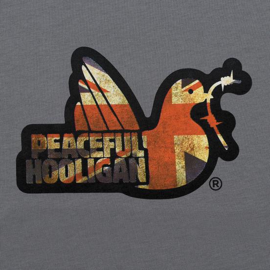 Мужская футболка Peaceful Hooligan Union Steel