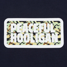 Мужская футболка Peaceful Hooligan Woodland Box Navy фото- 2