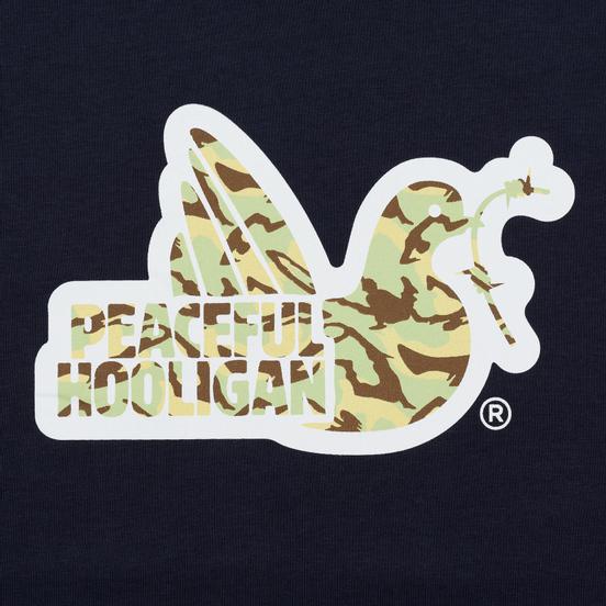 Мужская футболка Peaceful Hooligan Woodland Dove Navy