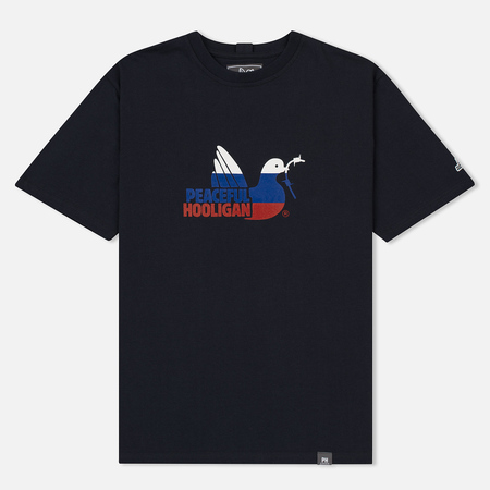 Мужская футболка Peaceful Hooligan BS World Cup Navy