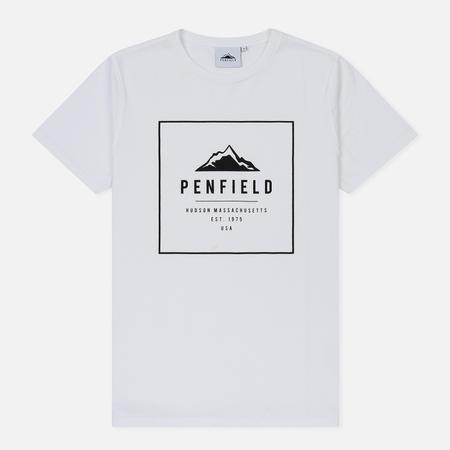 Мужская футболка Penfield Alcala White/Black
