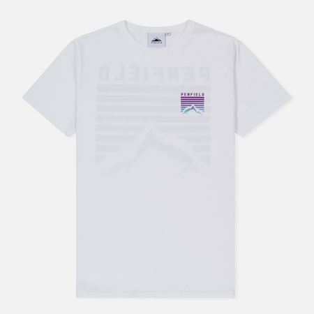 Мужская футболка Penfield Caputo White/Purple