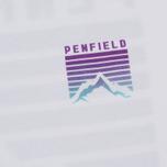 Мужская футболка Penfield Caputo White/Purple фото- 2