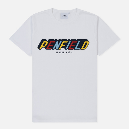 Мужская футболка Penfield Covington White/Multicolor