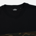 Мужская футболка Penfield Dillon Camo Ripstop Panel Black фото- 1