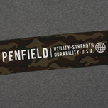 Мужская футболка Penfield Dillon Camo Ripstop Panel Grey фото- 2