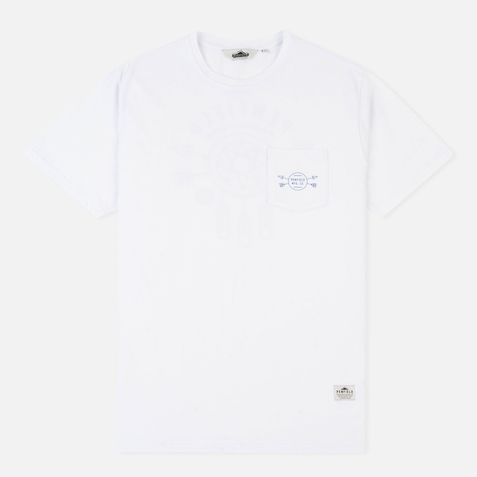 Penfield Dreamcatcher Men's T-shirt White