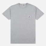 Мужская футболка Penfield Label Grey фото- 0