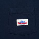 Мужская футболка Penfield Label Navy фото- 2
