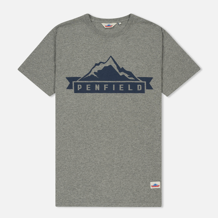 Мужская футболка Penfield Mountain Classic Graphic Grey