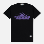 Мужская футболка Penfield Mountain Logo Black/Purple фото- 0