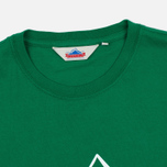 Мужская футболка Penfield Mountain Logo Green/White фото- 1