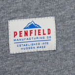 Мужская футболка Penfield Mountain Logo Grey/Blue фото- 3