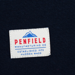Мужская футболка Penfield Mountain Logo Navy/White фото- 3