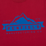 Мужская футболка Penfield Mountain Logo Red/Blue фото- 2