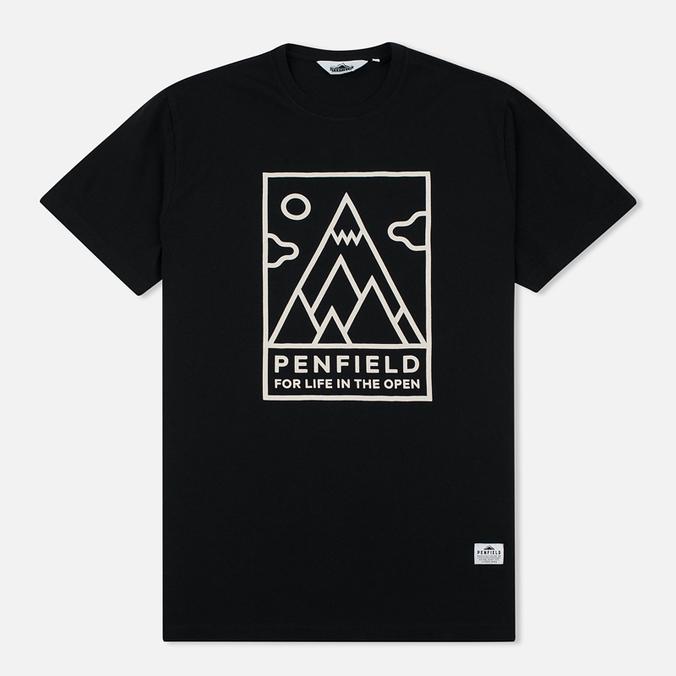 Мужская футболка Penfield Peaks Black