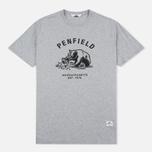 Мужская футболка Penfield Ursus Grey фото- 0