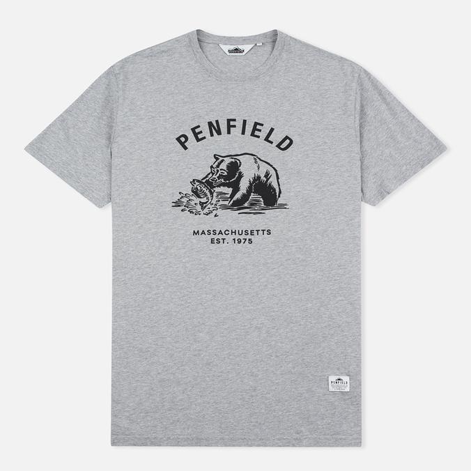 Мужская футболка Penfield Ursus Grey