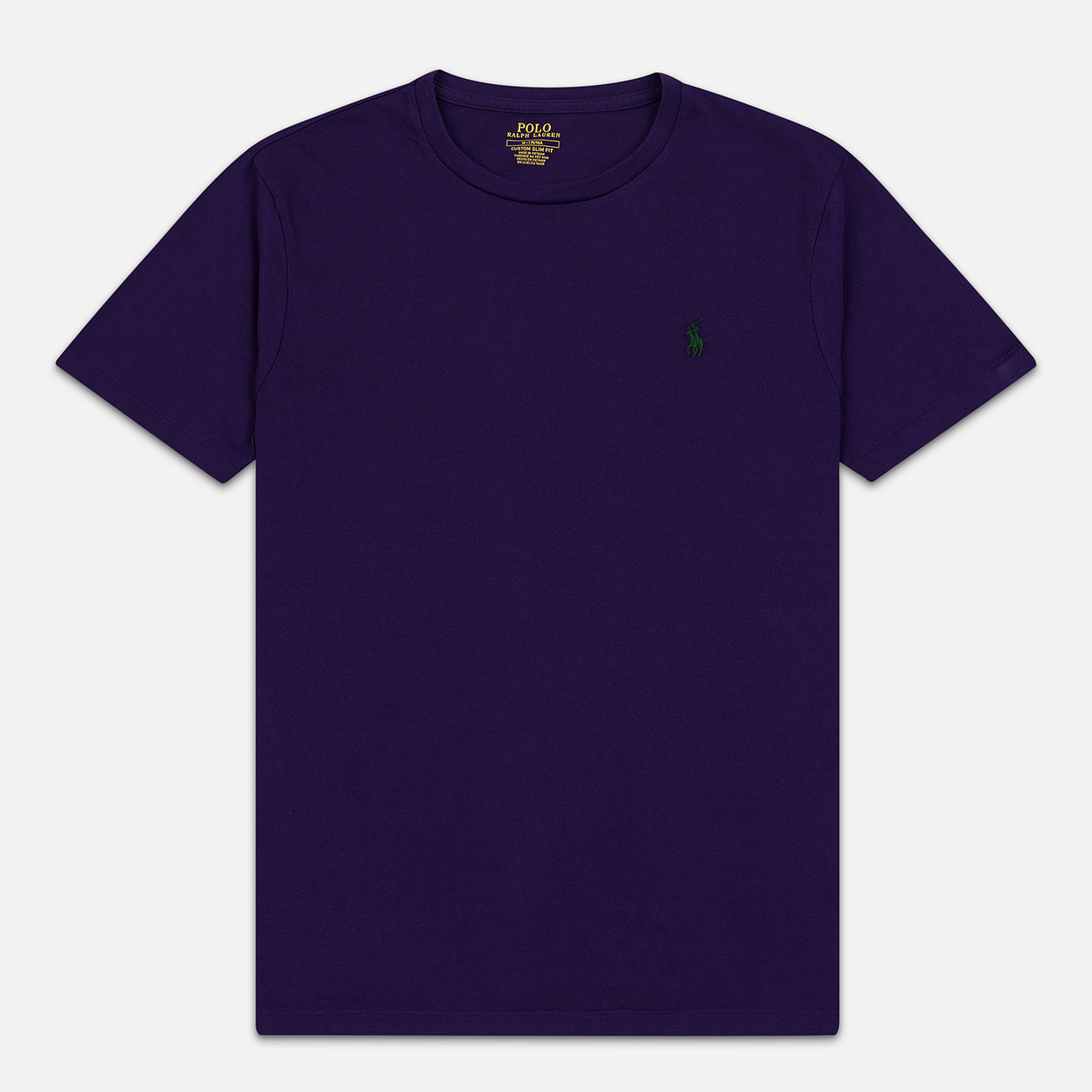 Мужская футболка Polo Ralph Lauren Classic Crew Neck 26/1 Jersey Branford Purple