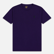 Мужская футболка Polo Ralph Lauren Classic Crew Neck 26/1 Jersey Branford Purple фото- 0