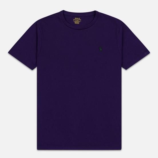 Мужская футболка Polo Ralph Lauren Classic Crew Neck 26/1 Jersey Branford Purple