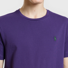 Мужская футболка Polo Ralph Lauren Classic Crew Neck 26/1 Jersey Branford Purple фото- 2