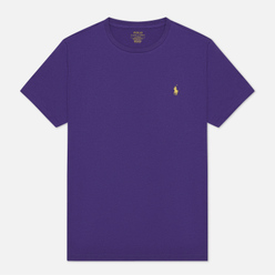 Мужская футболка Polo Ralph Lauren Classic Crew Neck 26/1 Jersey Cabana Purple/Yellow